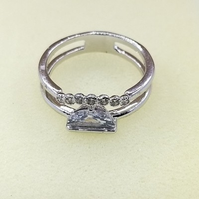 Кольцо Xuping покрытое родием