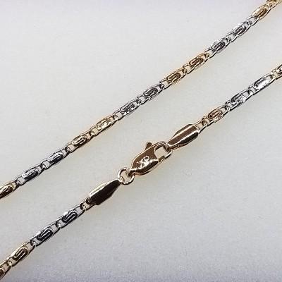 Цепочка Xuping покрытая 18К золотом и родием