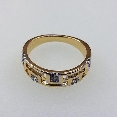 Кольцо Xuping покрытое 18К золотом