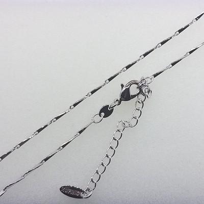 Цепочка Xuping покрытая родием