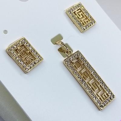 Набор Xuping покрытый 18К золотом