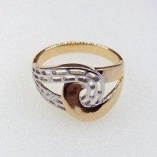 Кольцо Xuping покрытое 18К золотом и родием